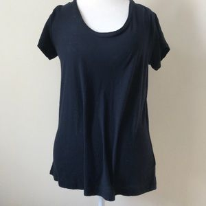 James Perse Tops - NWT Standard James Perse navy ss top